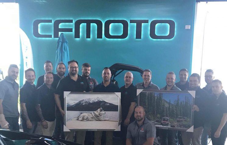 Groupe Motoplex : Plus gros concessionnaire CFMOTO